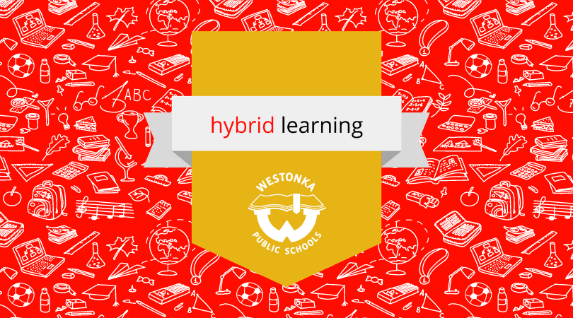 hybrid learning background