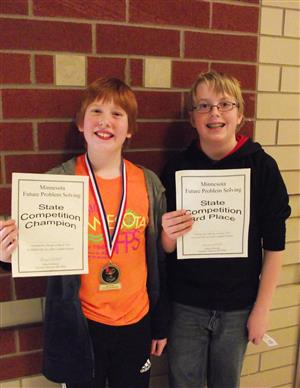 Future Problem Solvers state competition