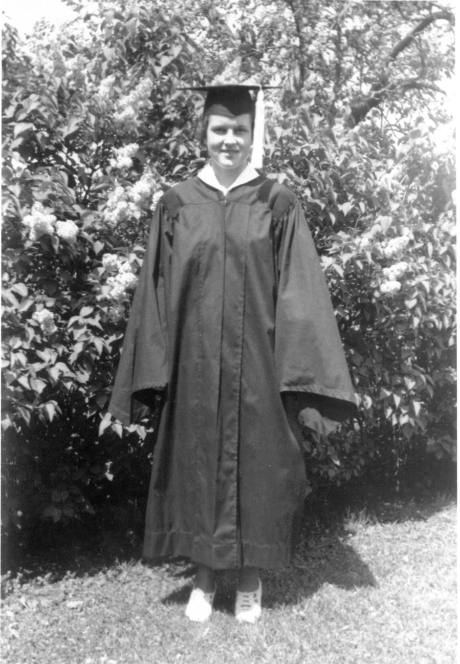1938 Margaret Jorgensen Zoldahn graduation photo