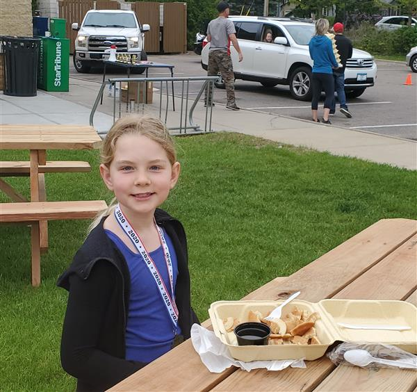 Hilltop Readers Enjoy Pancake Breakfast