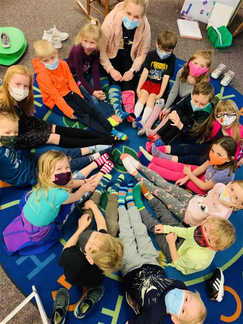 Hilltop Kindergartners Celebrate World Down Syndrome Day