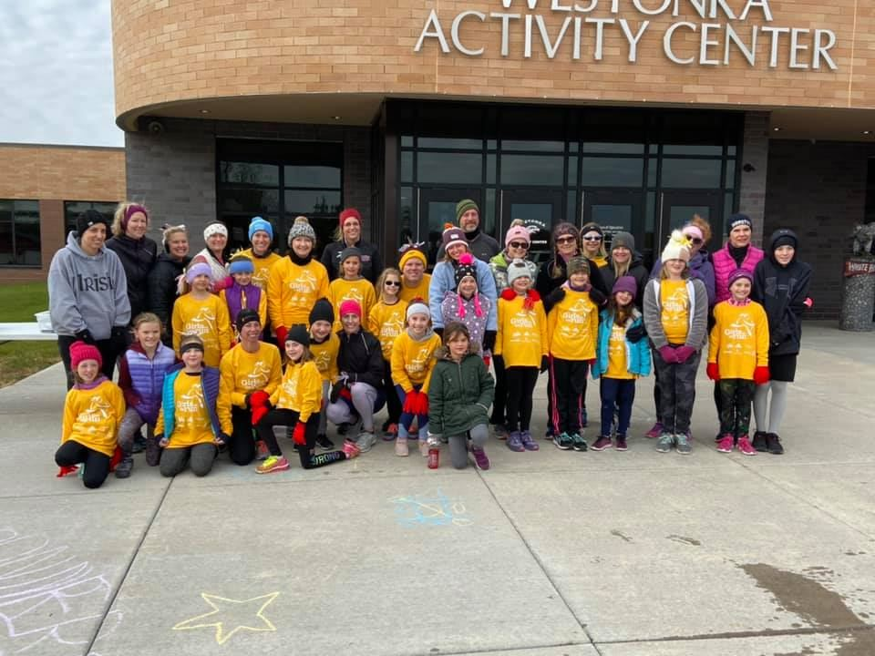 Girls on the Run at the WAC