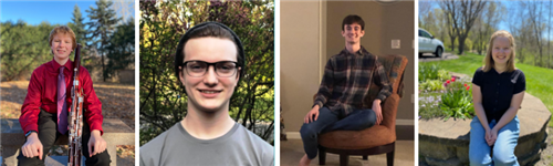 Four Seniors Named All-State Musicians