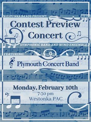 Bands to Host Contest Preview Concert Feb. 10
