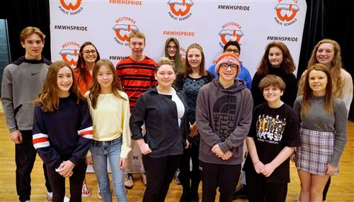 Distinguished Students Honored at MWHS