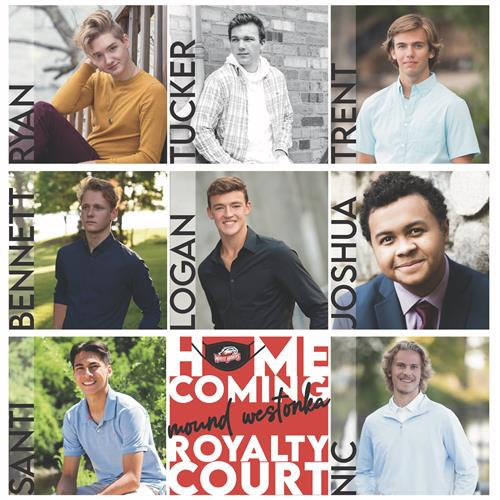 Homecoming King candidates