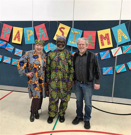 Hilltop Students Enjoy Music From the Congo