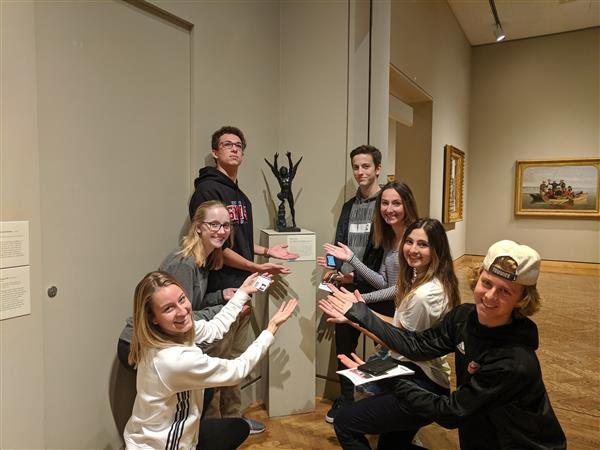 STEAM Class Takes Art Institute Challenge