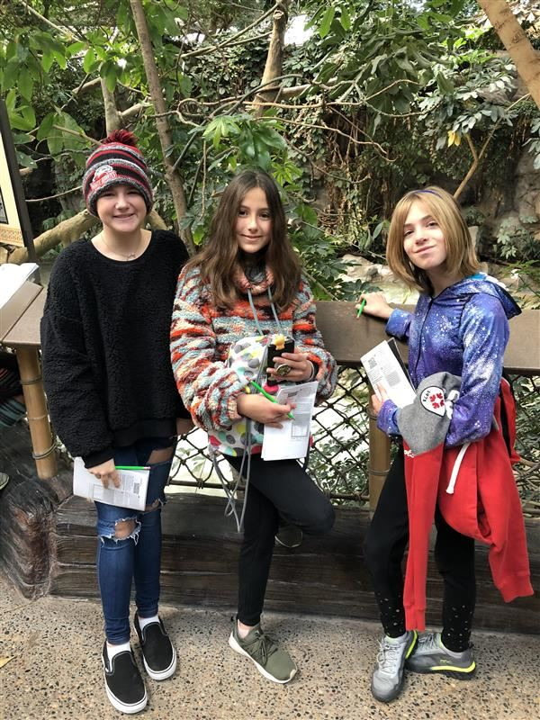 Grandview Students Attend Math Day at the Minnesota Zoo