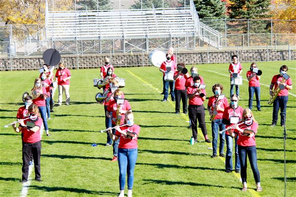 MWHS Pep Band Raises Funds for Food Shelf