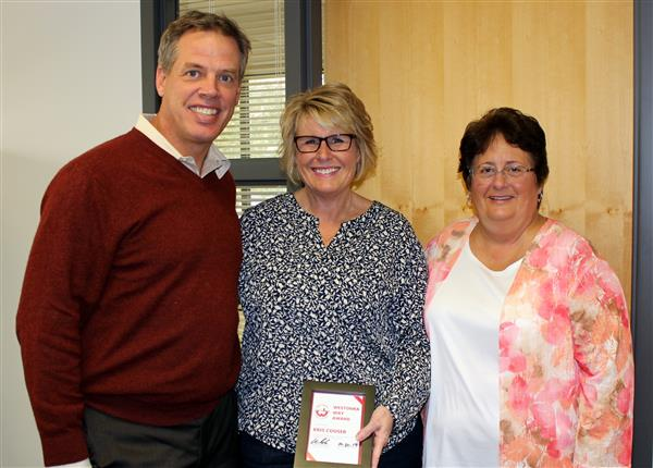 October Westonka Way Award Winner Kris Couser
