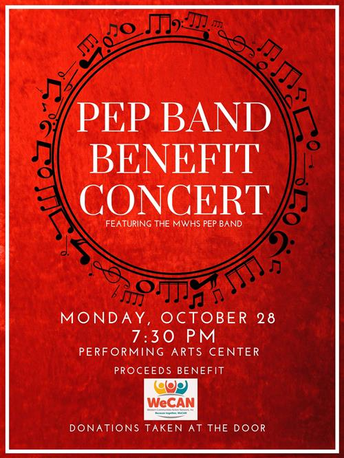 Benefit MWHS Band Concert Slated Oct. 28