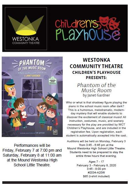Children's Playhouse Offers Youth Acting Opportunity