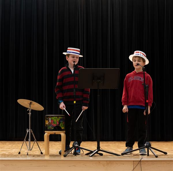 Shirley Hills Students Have Talent