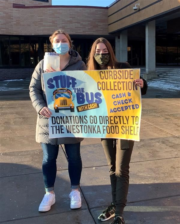 Students Will 'Stuff the Bus' for Food Shelf