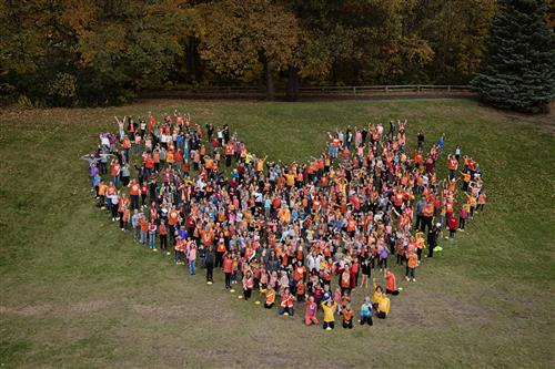 Students Celebrate Unity Day by Wearing Orange
