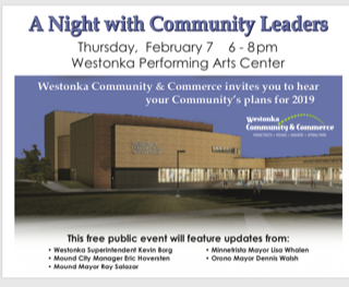 A Night with Community Leaders poster
